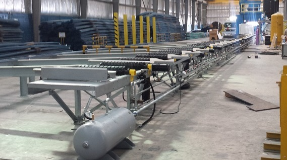 Rebar Coating Plant Construction - Aegion